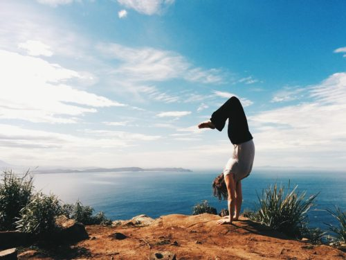 Clifftop Gymnastics by Celia