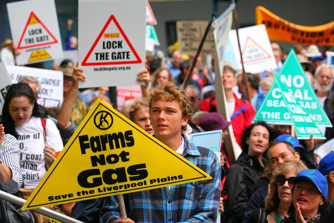 Farms Not Gas - Save the Liverpool Plains